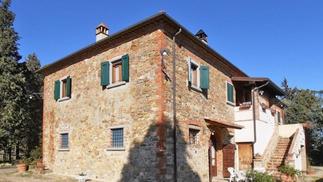 Lucignano Tuscany Home and Income Property