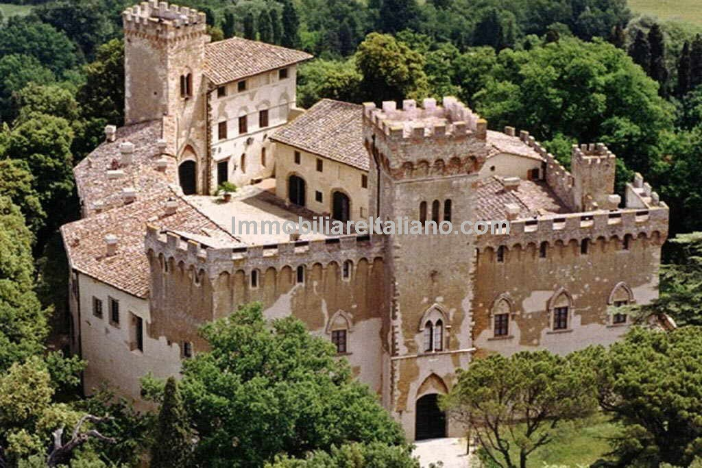 Italy Castle For Sale Tuscany Immobiliare Italiano