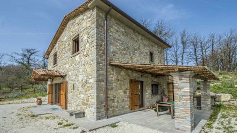 Recently Built House In Tuscany