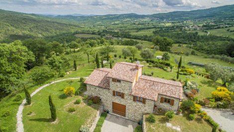 Caprese Michelangelo Tuscany New Build