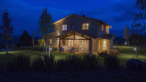 Fabro Umbria new build stone farmhouse with pool