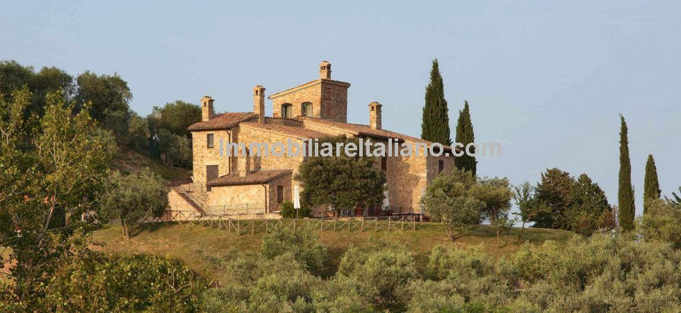 Very nice restored property in Umbria comprising a small agriturismo, wine estate with vineyards and olive grove. Good investment with home and income.