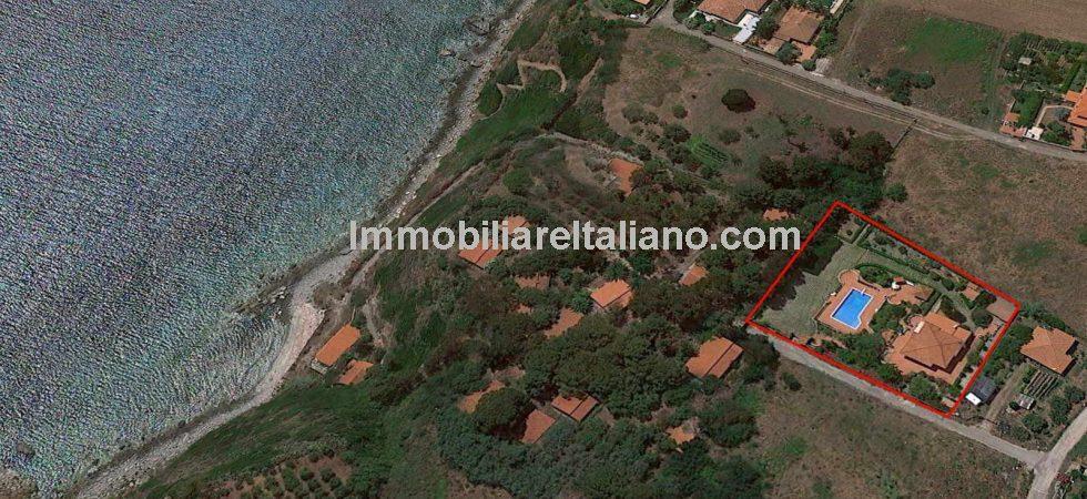Seaside Villa Property Ricadi Vibo Valentia Calabria
