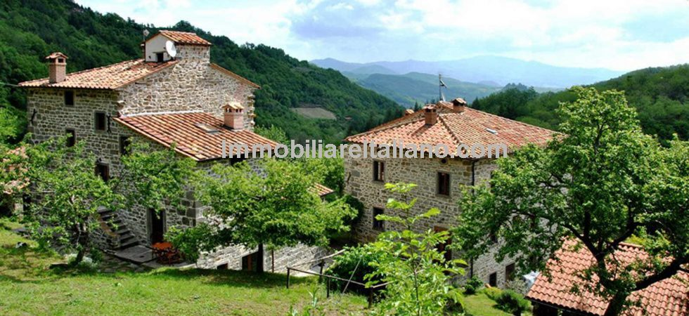 Bag a bargain in Tuscany with this super multi unit property near to Caprese Michelangelo. Great views and location and a lot of property for the price.
