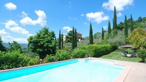 Arezzo Tuscany Panoramic Villa
