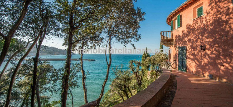 Porto Santo Stefano Villa Private Beach