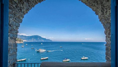 Luxury frontline villa for sale – Amalfi Coast