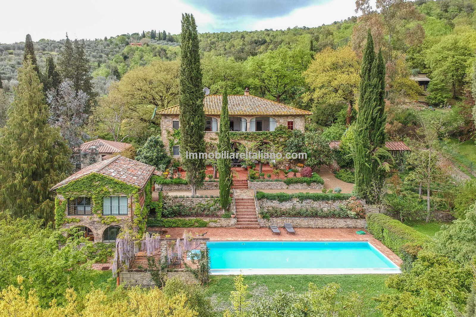 Australian artist Jeffrey Smart's Tuscan home