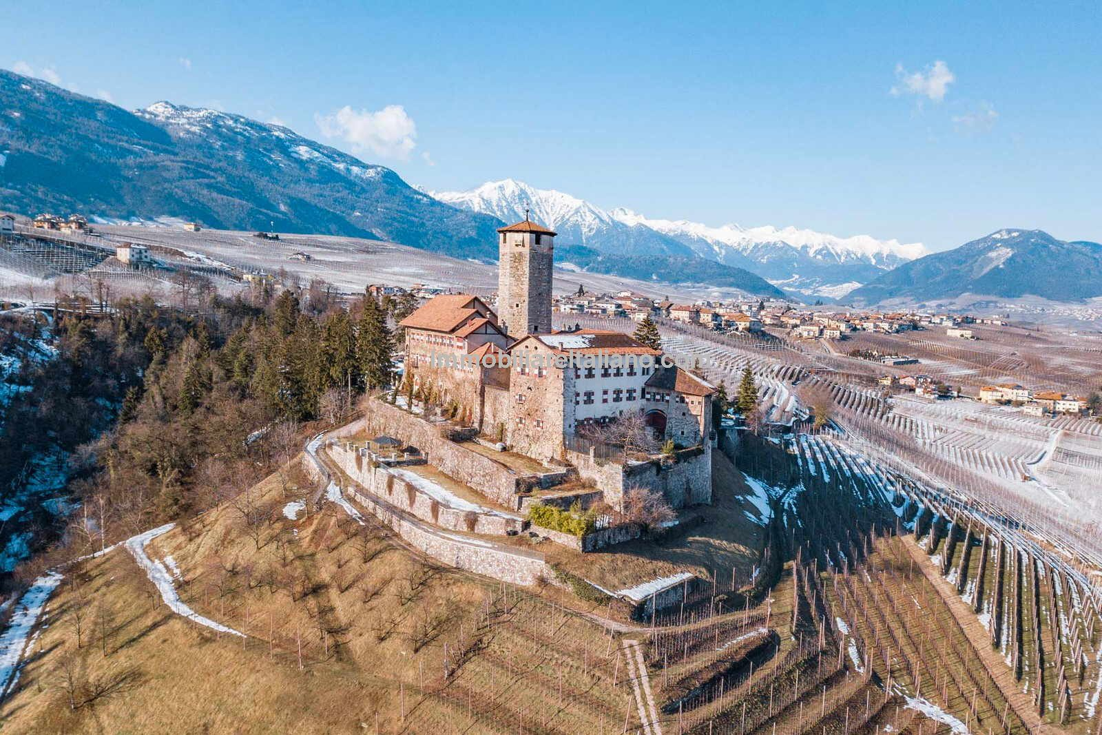 Medieval castle for sale