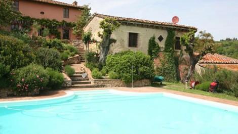 San Gimignano Tuscany Vineyard For Sale