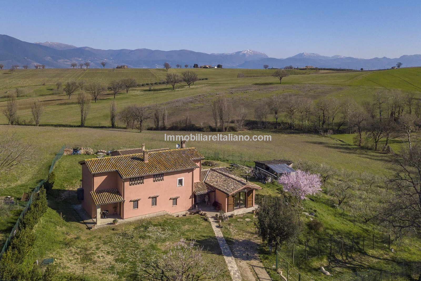 Aerial view of Umbria Country Home