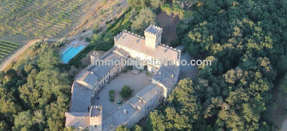 Italy castle for sale Tuscany