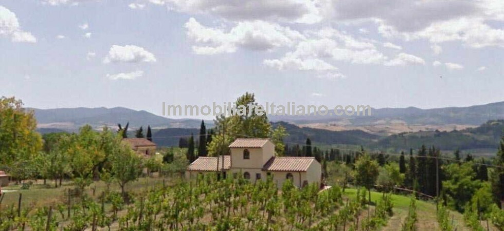 Restored Tuscan biodynamic working farm with wine and olive oil production plus agriturismo and restaurant for sale. Near to a village and about half an hour drive from Volterra. Pisa, Florence and the Tuscan coast in less than an hour.