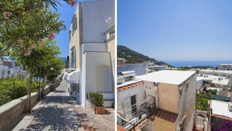 Sea view house for sale in Capri