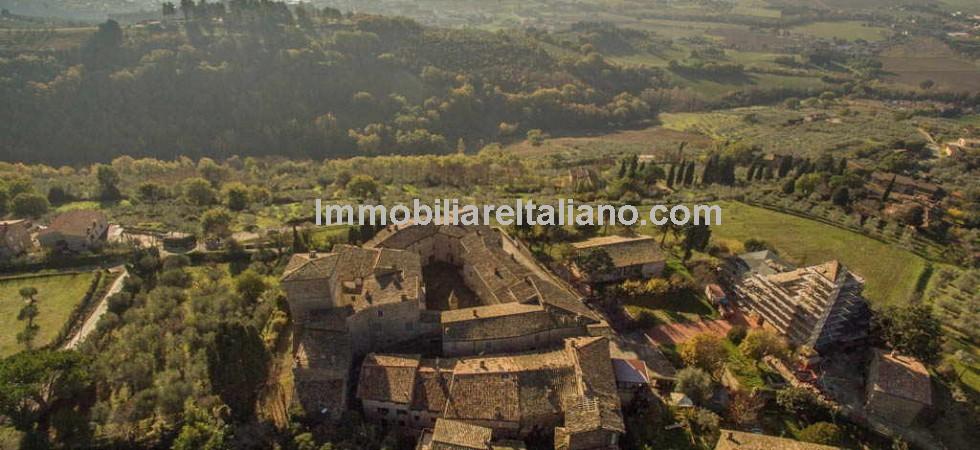 Umbria castle property