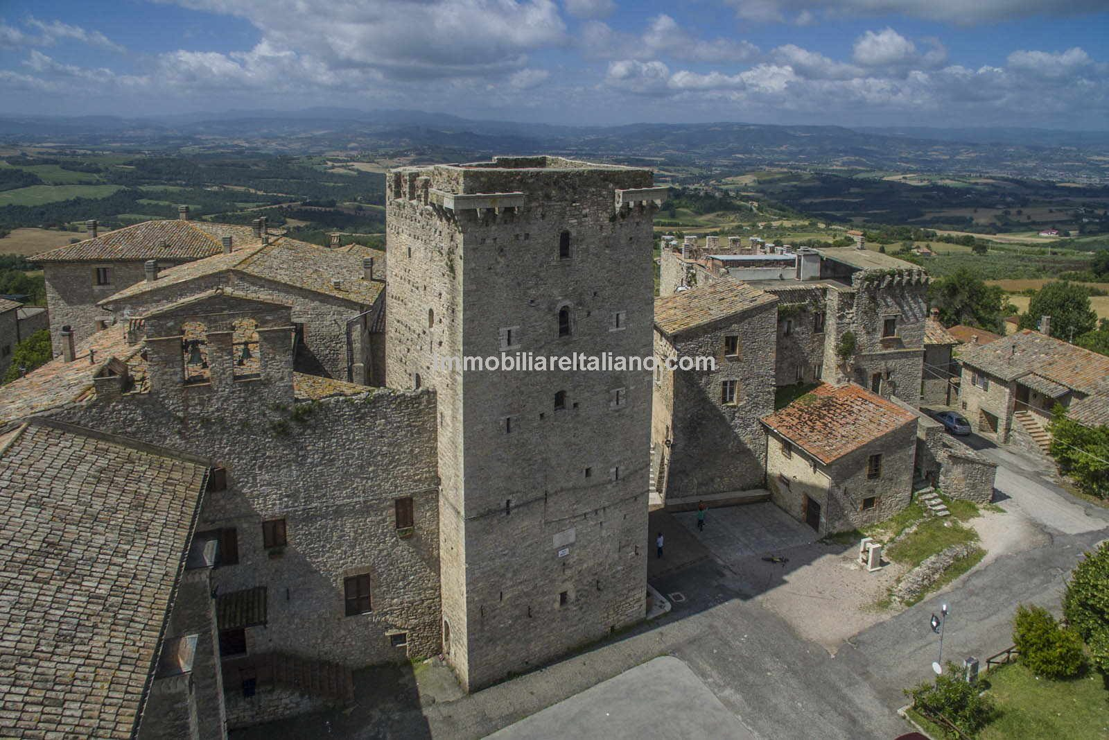 Medieval Tower For Sale In Italy