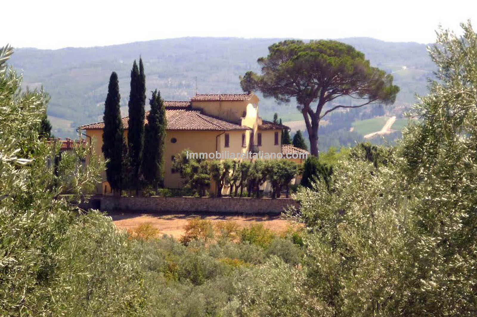 Splendid Villa near Impruneta and Florence