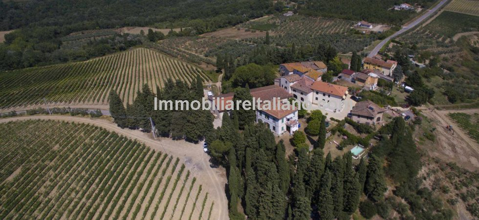 "An ideal opportunity to become a Tuscan wine producer & vineyard owner. Under utilised property just waiting for a ""hands on"" owner to take full advantage of the potential this property holds."