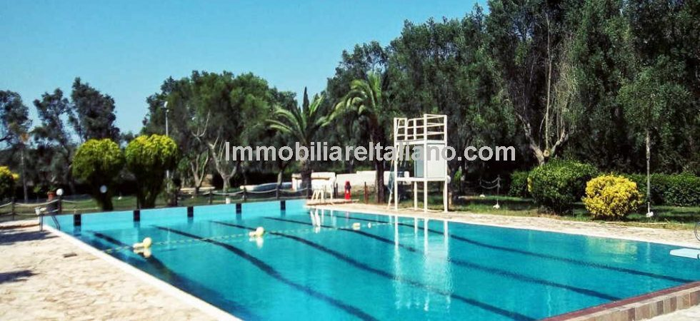 Unusual commercial opportunity, Puglia leisure complex for sale. Currently an Agriturismo it is also suitable for other uses and could be developed into a holiday village, wellness centre, amusement park, rest home or private residence.
