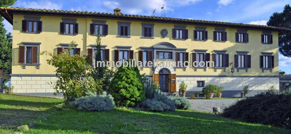 Prestigious Tuscan Wine Estate. Historical hamlet with villa, Agriturismo, restaurant, apartments, winery, horse riding centre, tennis court and pool. 180 hectares of land.