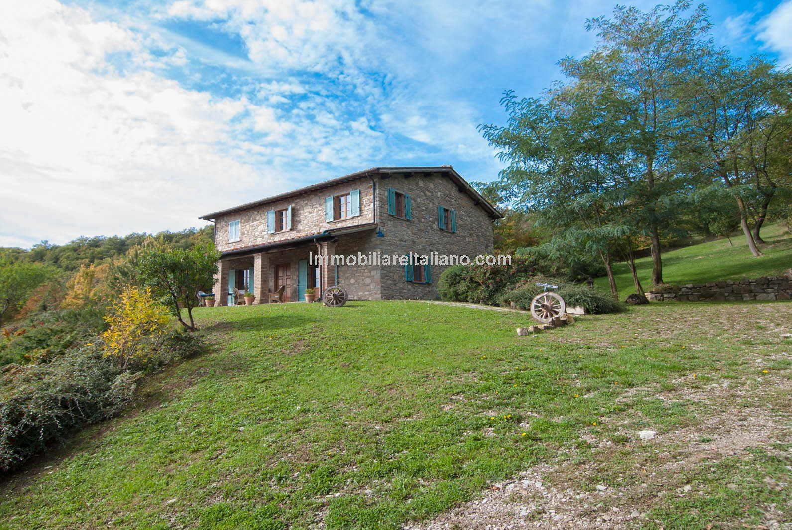 Typical Tuscan Country House With Land