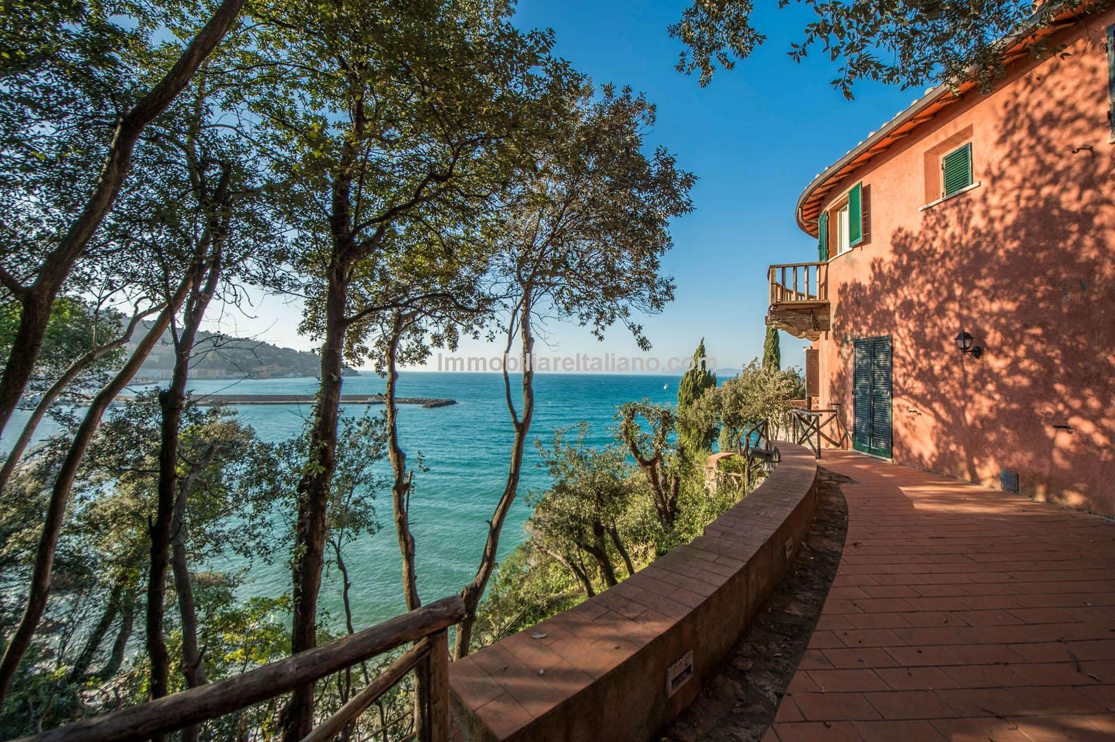 Porto Santo Stefano Villa Private Beach