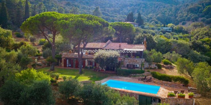 Italian coastal property for sale Tuscany