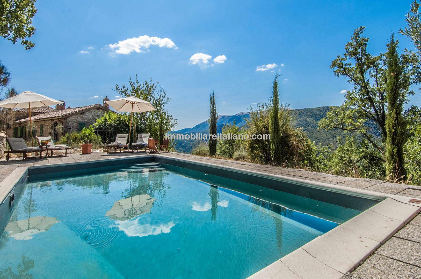 Fully restored farmhouse with pool Umbertide Umbria
