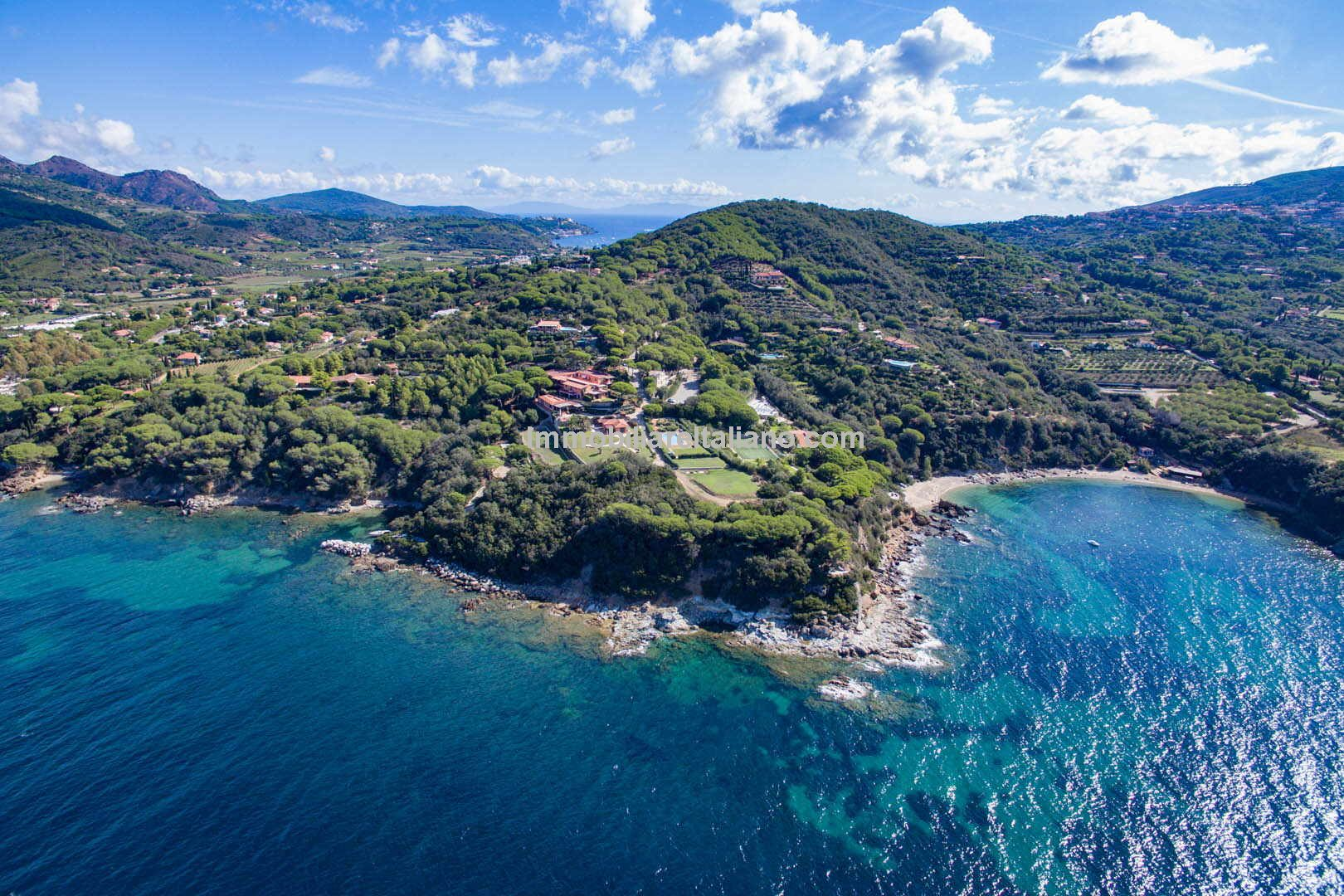 Luxury Elba Villa Property Sea Views