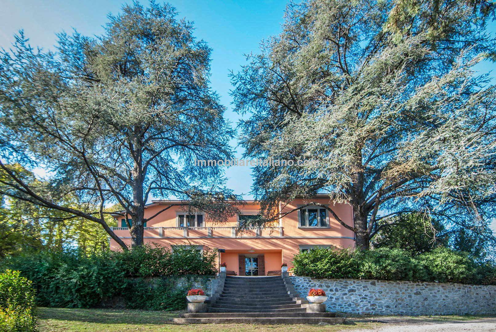 Liberty style Villa Pergine Valdarno Arezzo Tuscany