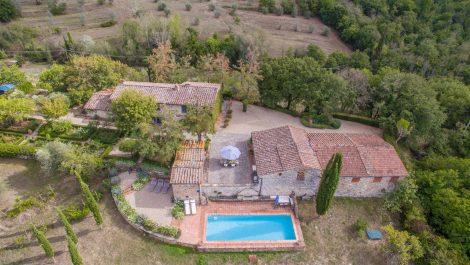 Greve in Chianti Villa Property – Pool Vineyard