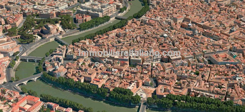 Rome city centre apartment for sale