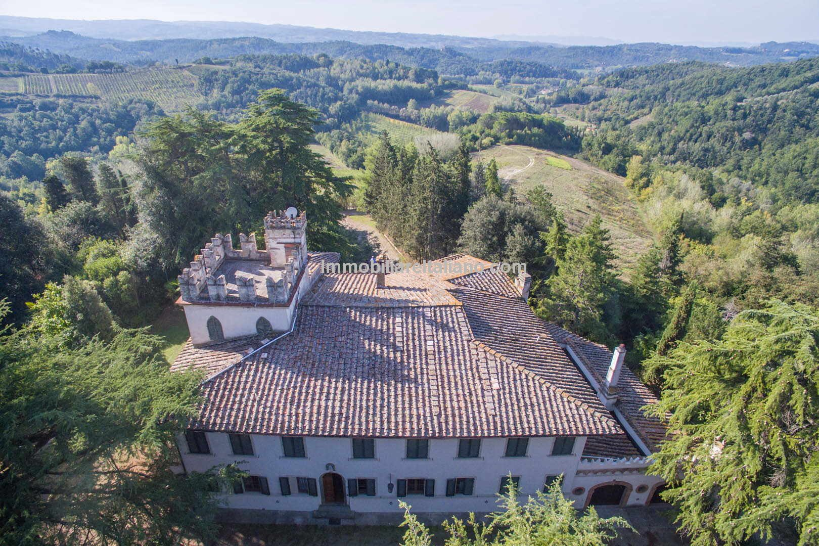 Chianti Historical Vineyard Estate