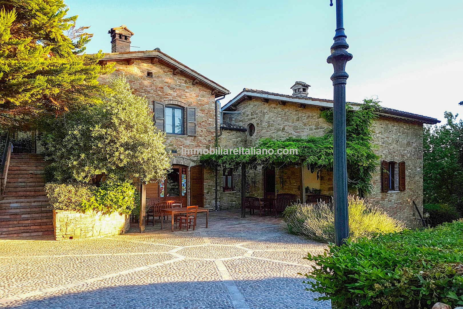 Small business opportunity in Italy. Agriturismo near to Urbino in the Marche region.