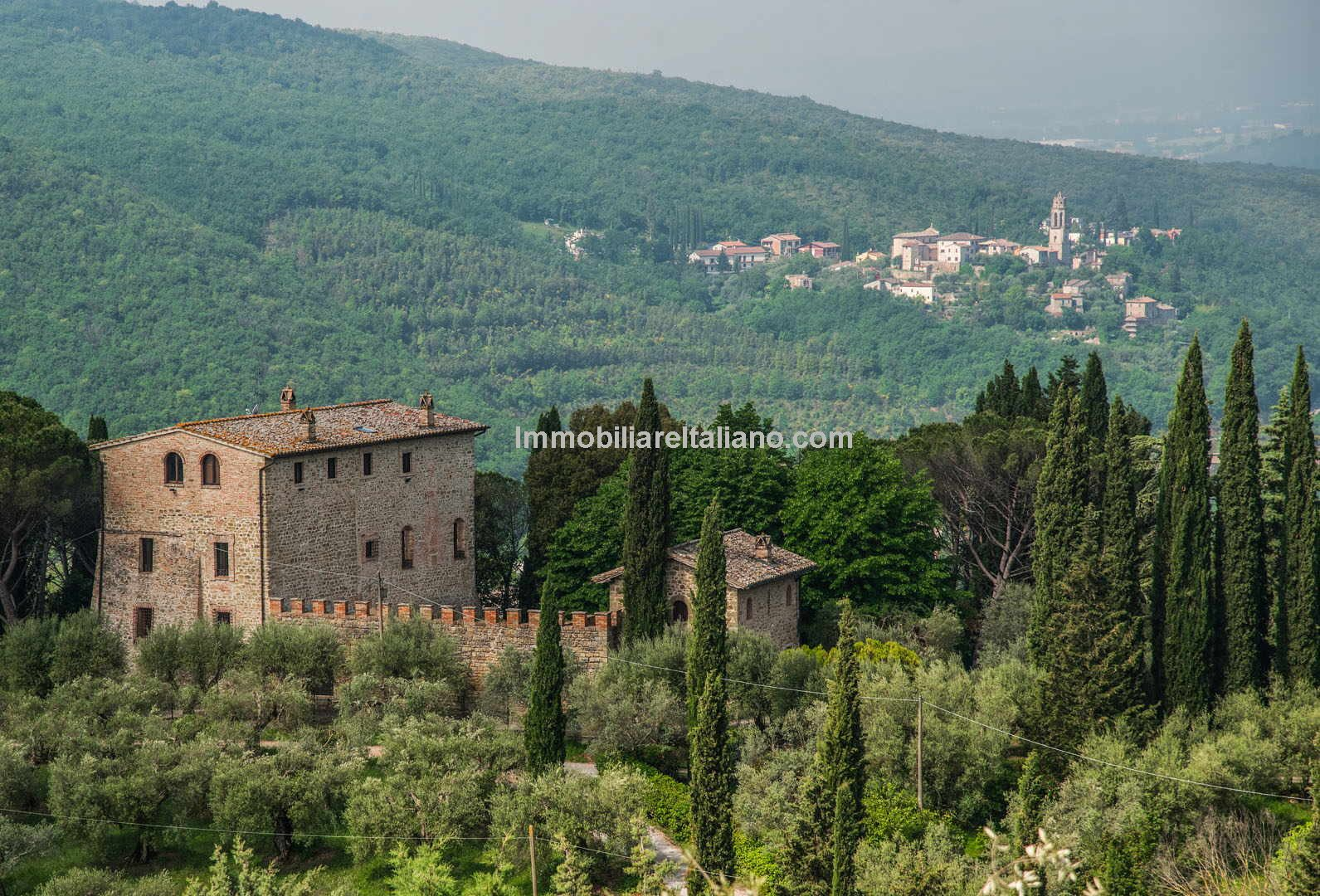 Historic Italian property For Sale - Watch Tower Perugia Umbria