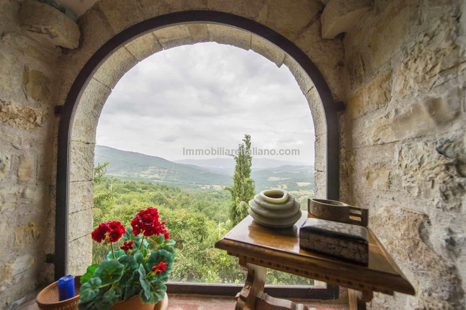 2 Bed Apartment Property Medieval Hamlet Piegaro Perugia Umbria