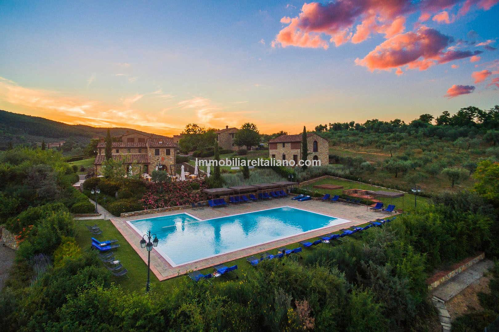 Tuscany Vineyard, Olive Grove and Agriturismo