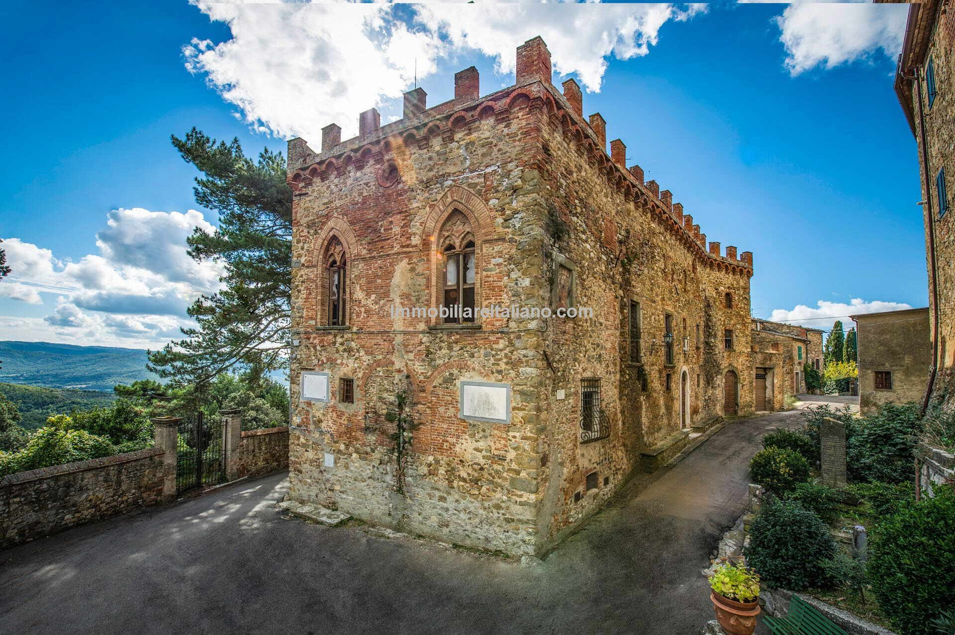 Tuscan medieval castle property