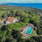 Italian seaside villa