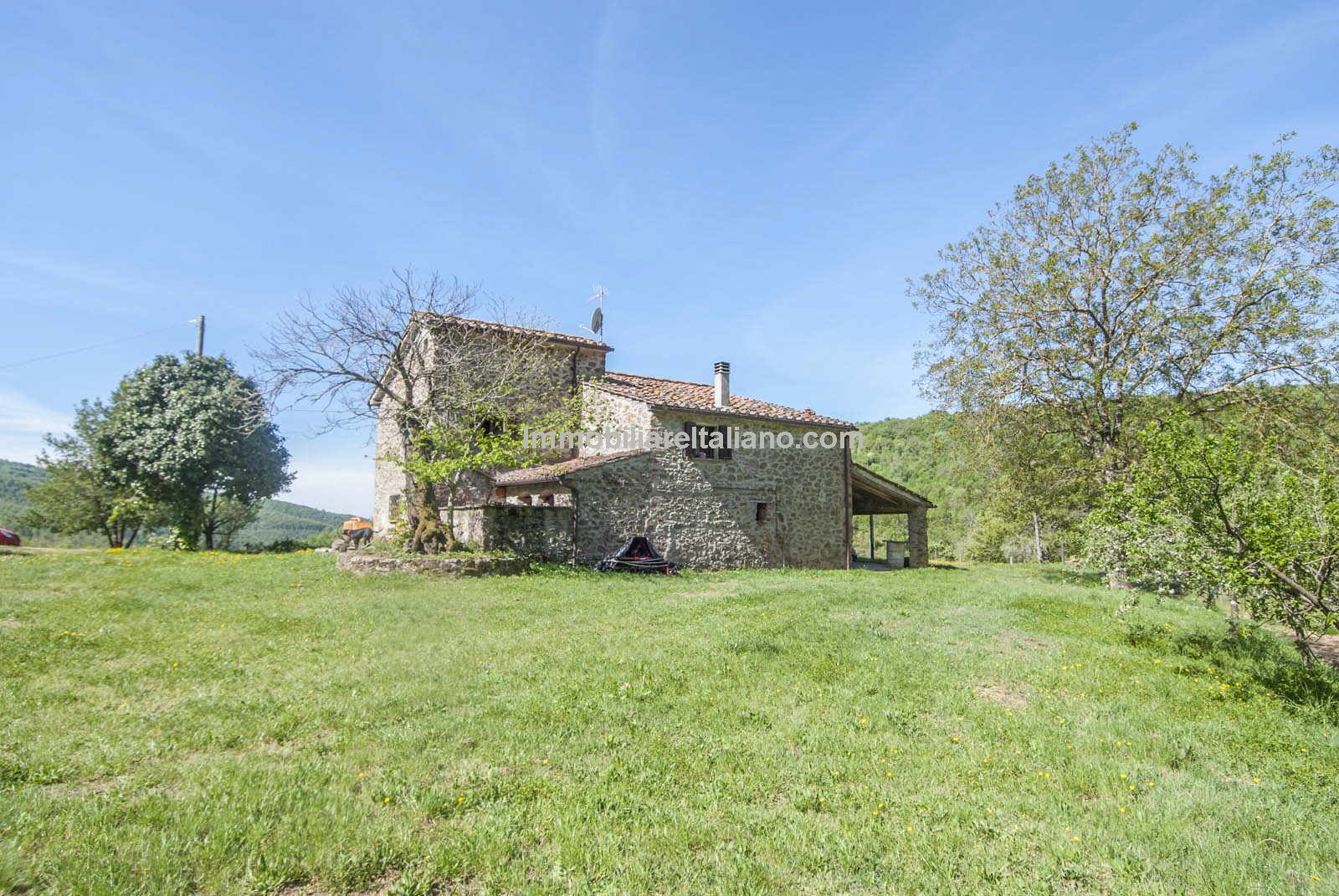 Renovation project in Tuscany Italy