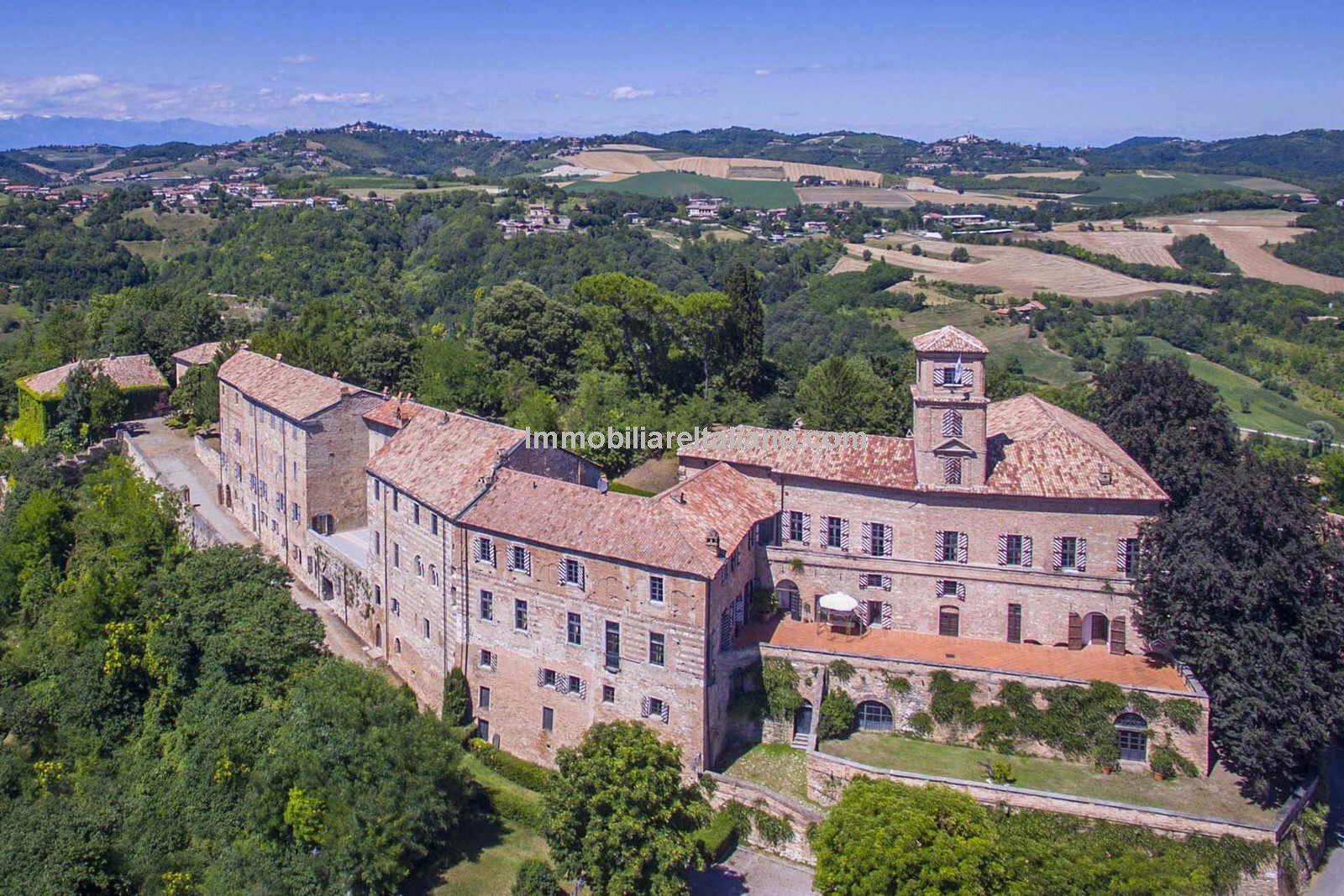 Medieval Piedmont castle for sale