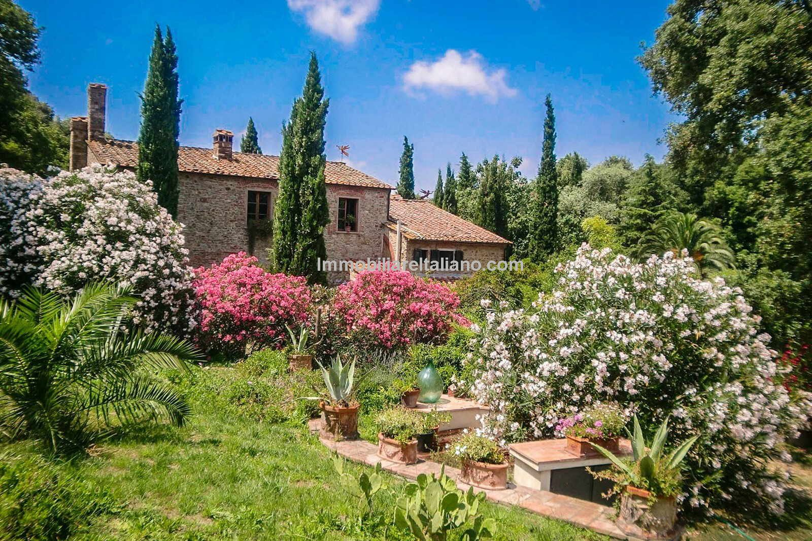 Restored property near the Tuscan coast