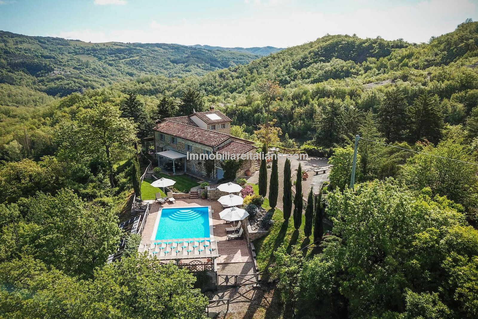 Views over the Umbria Hills