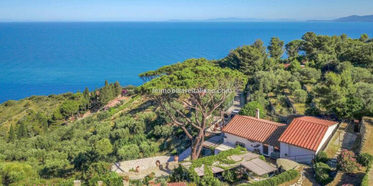 Sea View Property In Tuscany