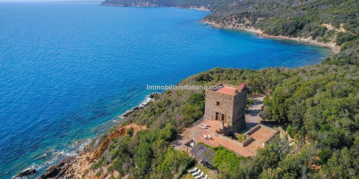 Sea View Property Tuscany