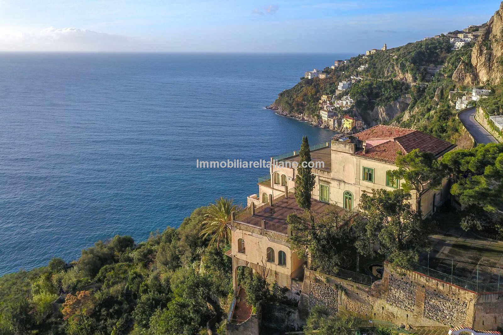 Seaviews from Amalfi coast villa